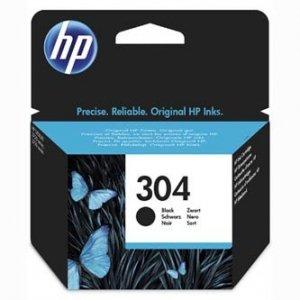 HP oryginalny ink N9K06AE, HP 304, black, 120s, HP DeskJet 2620,2630,2632,2633,3720,3730,3732,3735 N9K06AE