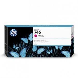 HP oryginalny ink P2V78A, HP 746, magenta, 300ml, HP HP DesignJet Z6, Z9+ P2V78A