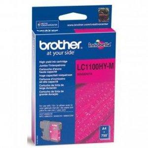 Brother oryginalny wkład atramentowy / tusz LC-1100HYM. magenta. 750s. high capacity. Brother DCP-6690CW. MFC-6490CW LC1100HYM
