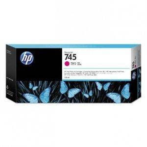 HP oryginalny wkład atramentowy / tusz F9K01A, No. 745, magenta, 300ml, HP DesignJet HD Pro MFP, DesignJet Z2600, Z5600 F9K01A