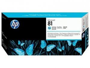 HP oryginalna głowica drukująca C4954A. No.81. light cyan. HP DesignJet 5000. PS. UV. 5500. PS. UV C4954A