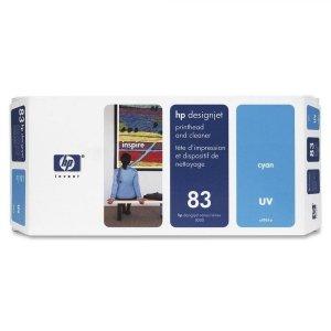 HP oryginalna głowica drukująca No83/cyan uv 13ml DGJ5000 C4961A