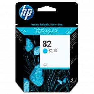 HP oryginalny wkład atramentowy / tusz CH566A. No.82. cyan. 28ml. HP HP DesignJet 510 CH566A