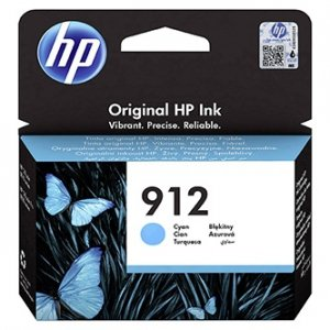 HP oryginalny ink 3YL77AE, HP 912, cyan, 315s, high capacity, HP Officejet 8012, 8013, 8014, 8015 Officejet Pro 802 3YL77AE