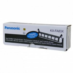 Panasonic oryginalny toner KX-FA83X. black. 2500s. Panasonic KX-FL513EX. KX-FL613EX KX-FA83X