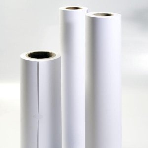 Powlekany papier w roli do plotera, 610mm x 30m, 120g PPP610x30/120