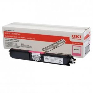 OKI oryginalny toner 44250718. magenta. 1500s. OKI C110. 130n. MC160 44250718