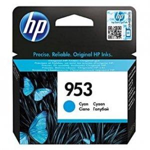 HP oryginalny wkład atramentowy / tusz blistr. F6U12AE. cyan. 700s. 10ml. No.953. HP OJ Pro 8218.8710.8720.8740 F6U12AE#BGY
