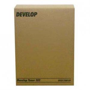 Develop oryginalny toner 8935 2100 01. black. 12000s. 102. Develop 1501. 1800. 2150.  EP-1052. 1083. 2010. 2x240g 8935 2100 00