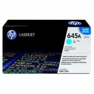 HP oryginalny toner C9731A. cyan. 12000s. 645A. HP Color LaserJet 5500. N. DN. HDN. DTN C9731A