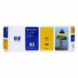 HP oryginalny wkład atramentowy / tusz C4943A. No.83. yellow. 680ml. HP DesignJet 5000. PS. UV. 5500. PS. UV C4943A