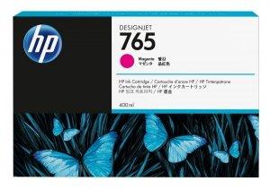 HP 765 Magenta 400ml. oryginalny wkład atramentowy / tusz do plotera Designjet T7200 purpurowy F9J51A