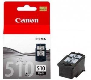 Canon oryginalny wkład atramentowy / tusz PG510BK. black. 220s. 9ml. 2970B009. 2970B004. blistr z ochroną. Canon MP240. 260 2970B009