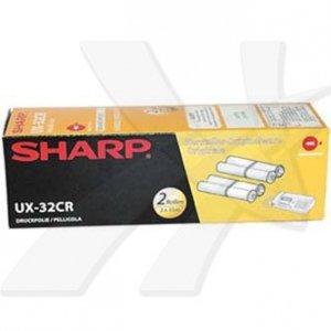 Sharp oryginalna folia do faxu UX32CR. 2*100str.. Sharp UX P710. A760 UX-32CR