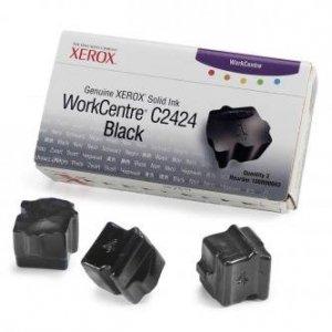 Xerox oryginalny wkład atramentowy / tusz 108R00663. black. 3400s. Xerox WorkCentre C2424 Malibu. 3szt 108R00663