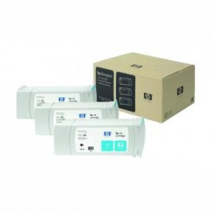 HP oryginalny wkład atramentowy / tusz C5073A. No.83. cyan. 3x680ml. 3szt. HP DesignJet 5000. PS. 5500. PS C5073A