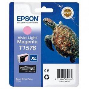 Epson oryginalny wkład atramentowy / tusz C13T15764010. light vivid magenta. 25.9ml. Epson Stylus Photo R3000 C13T15764010