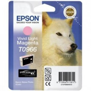 Epson oryginalny wkład atramentowy / tusz C13T09664010. light magenta. 13ml. Epson Stylus Photo R2880 C13T09664010