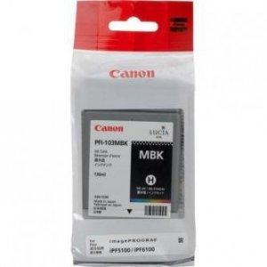 Canon oryginalny wkład atramentowy / tusz PFI103MB. matte black. 130ml. 2211B001. ploter iPF-5100. 6100 2211B001