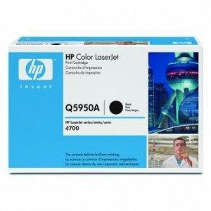 HP oryginalny toner Q5950A. black. 11000s. HP Color LaserJet 4700. n. dn. dtn. ph+ Q5950A