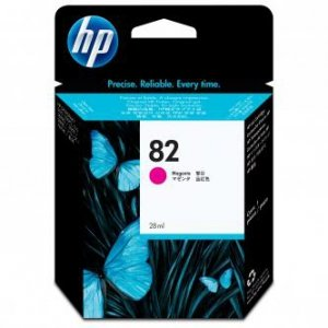 HP oryginalny wkład atramentowy / tusz CH567A. No.82. magenta. 28ml. HP HP DesignJet 510 CH567A