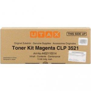 Utax oryginalny toner 4452110014. magenta. 4000s. Utax CLP 3521 4452110014