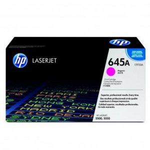 HP oryginalny toner C9733A. magenta. 12000s. 645A. HP Color LaserJet 5500. N. DN. HDN. DTN C9733A
