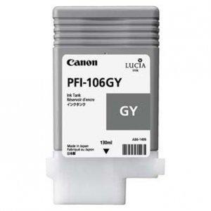Canon oryginalny wkład atramentowy / tusz PFI106GY. grey. 130ml. 6630B001. ploter iPF-6300 6630B001
