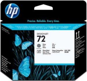 HP oryginalna głowica drukująca C9380A. No.72. grey/black. HP Designjet T1100. T770 C9380A