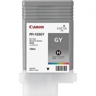 Canon oryginalny wkład atramentowy / tusz PFI103GY. grey. 130ml. 2213B001. ploter iPF-5100. 6100 2213B001