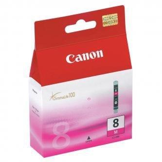 Canon oryginalny wkład atramentowy / tusz CLI8M. magenta. 420s. 13ml. 0622B001. Canon iP4200. iP5200. iP5200R. MP500. MP800 0622B001