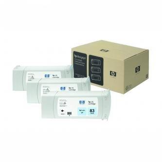 HP oryginalny wkład atramentowy / tusz C5076A. No.83. light cyan. 3x680ml. 3szt. HP DesignJet 5000. PS. 5500. PS C5076A