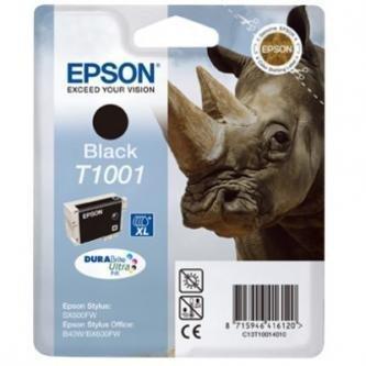 Epson oryginalny wkład atramentowy / tusz C13T10014010. black. 25.9ml. Epson Stylus Office B40W. BX600FW