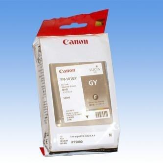 Canon oryginalny wkład atramentowy / tusz PFI101 Grey. grey. 130ml. 0892B001. ploter iPF-5000 0892B001