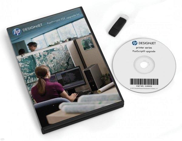 Rozszerzenie PostScript dla ploterów HP Designjet T1300/T2300/T790/T795 CN500B