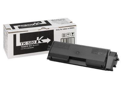 Kyocera Mita oryginalny toner TK580K. black. 3500s. Kyocera Mita FS- C5150DN 1T02KT0NL0
