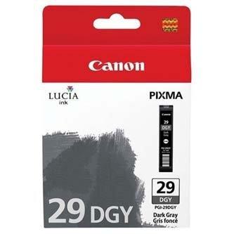 Canon oryginalny wkład atramentowy / tusz PGI29 Dark Grey. dark grey. 4870B001. Canon PIXMA Pro 1 4870B001