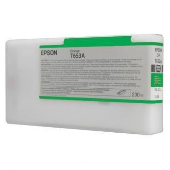 Epson oryginalny wkład atramentowy / tusz C13T653B00. green. 200ml. Epson Stylus Pro 4900 C13T653B00