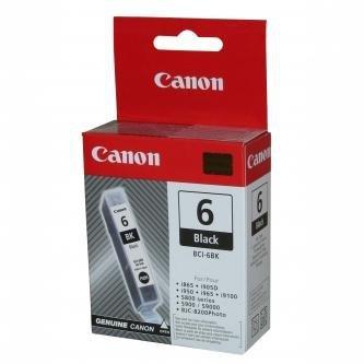 Canon oryginalny wkład atramentowy / tusz BCI6BK. black. 4705A002. Canon S800. 820. 820D. 830D. 900. 9000. i950 4705A002