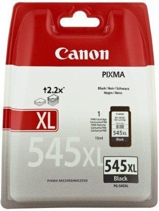 Canon oryginalny wkład atramentowy / tusz PG-545XL. black. 400s. 15ml. 8286B001. Canon Pixma MG2450. 2550. 3550 8286B001