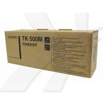 Kyocera Mita oryginalny toner TK500M. magenta. 8000s. Kyocera Mita FS-C5016N 370PD4KW