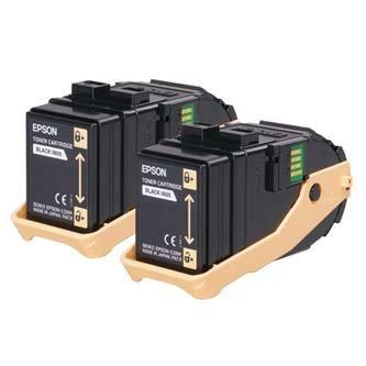 Epson oryginalny toner C13S050609. black. 13000s. Epson Aculaser C9300N. Dual pack dwupack C13S050609