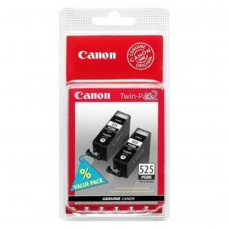 Canon oryginalny wkład atramentowy / tusz PGI525PGBK Twin Pack. black. 4529B010. 4529B006. Canon Pixma  MG5150. 5250. 6150. 8150