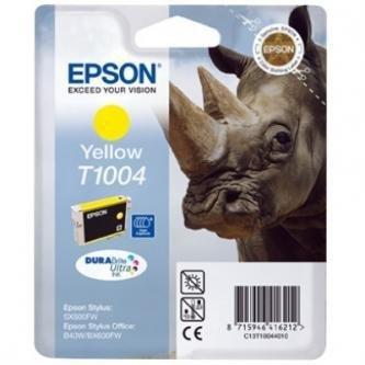 Epson oryginalny wkład atramentowy / tusz C13T10044010. yellow. 11.1ml. Epson Stylus Office B40W. BX600FW C13T10044010