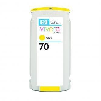 HP oryginalny wkład atramentowy / tusz C9454A. No.70. yellow. 130ml. HP Designjet Z3100. Z2100 C9454A