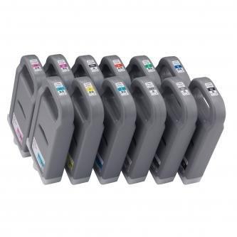 Canon oryginalny wkład atramentowy / tusz PFI701C. cyan. 700ml. 0901B001. 0901B005. ploter iPF-8X00. 8000S. 9X00. 9000S