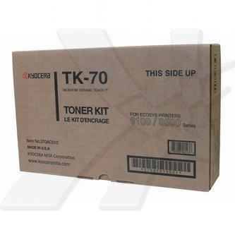 Kyocera Mita oryginalny toner TK70. black. 40000s. 370AC010. Kyocera Mita FS-9100. 9120. 9500. 9520 370AC010