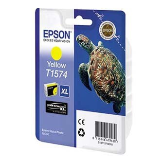 Epson oryginalny wkład atramentowy / tusz C13T15744010. yellow. 25.9ml. Epson Stylus Photo R3000 C13T15744010