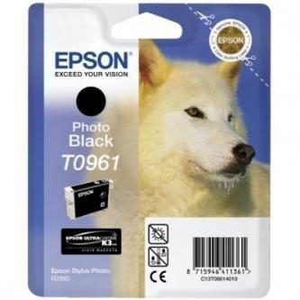 Epson oryginalny wkład atramentowy / tusz C13T09614010. photo black. 13ml. Epson Stylus Photo R2880 C13T09614010