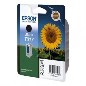 Epson oryginalny wkład atramentowy/tusz C13T017401, black, 600s, 17ml, Epson Stylus Color 680, 685